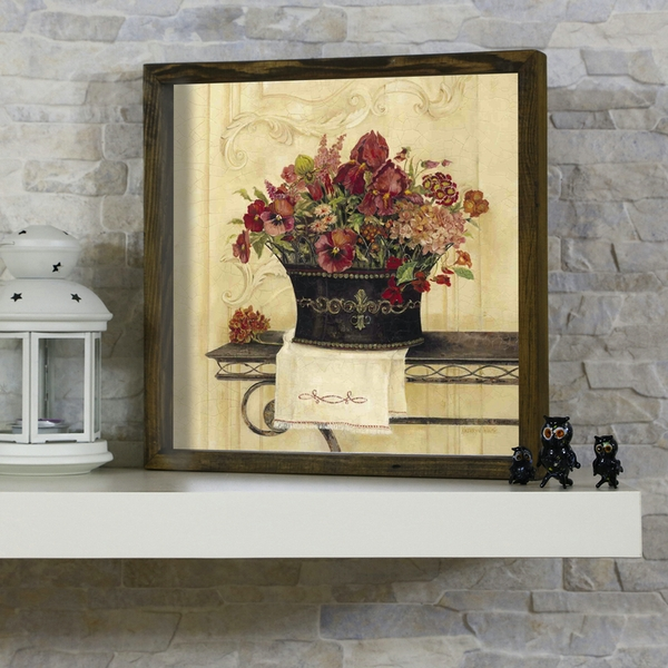 KZM443 Multicolor Decorative Framed MDF Painting