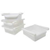 Pack of 4 Fridge Storage Drawers | M&W
