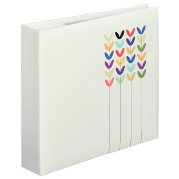 Blossom Photo Album for 200 Photos in 10 x 15 cm Format for 200 Photos White
