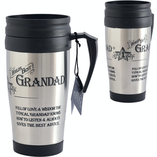 Ultimate Gift for Man Travel Mug Grandad