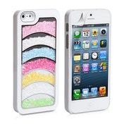 YouSave Accessories iPhone 5 / 5s Rainbow Case - White