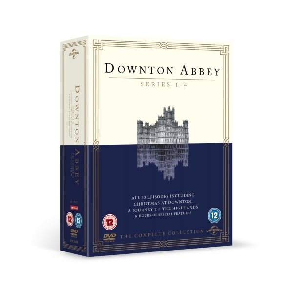 Downton Abbey - Series 1-4 DVD