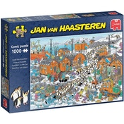 Jumbo Jan Van Haasteren South Pole Expedition Jigsaw Puzzle - 1000 Pieces