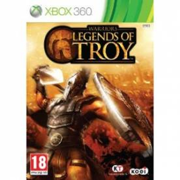 Warriors Legends Of Troy Game Xbox 360