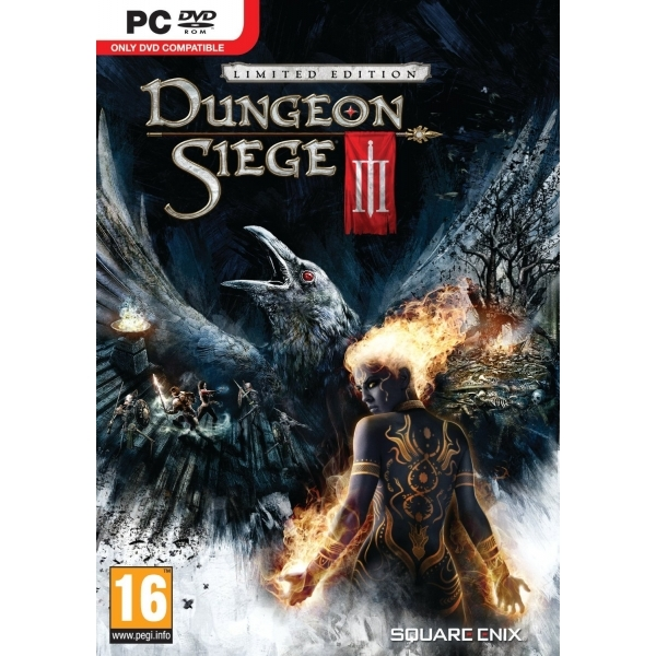 Dungeon Siege III 3 Limited Edition Game PC