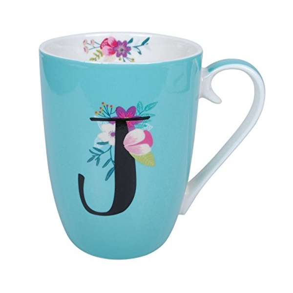 Vintage Boutique Ceramic Mug - J