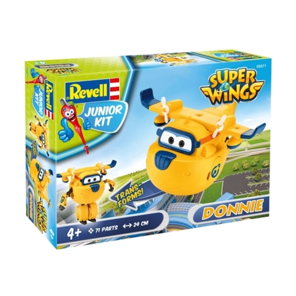 Super Wings Donnie 1:20 Revell Juniot Kit