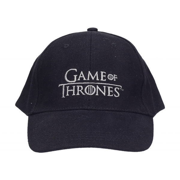 Game Of Thrones - Logo Cap - Black