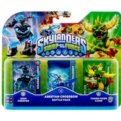 Grim Creeper, Thorn Horn Camo, and Arkeyan Crossbow (Skylanders Swap Force) Battle Pack