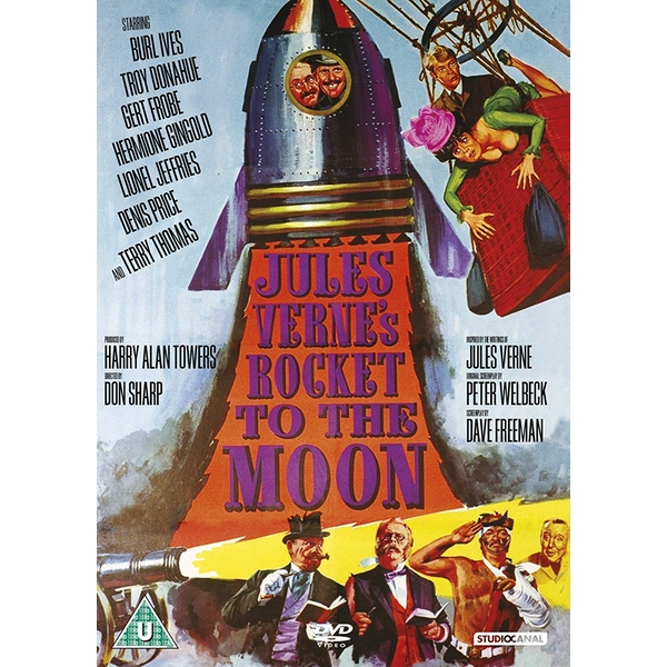 Jules Verne's Rocket To The Moon DVD