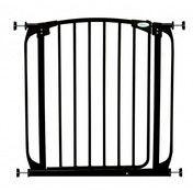 Dreambaby Auto-Close Standard Height Metal Safety Gate (Black)