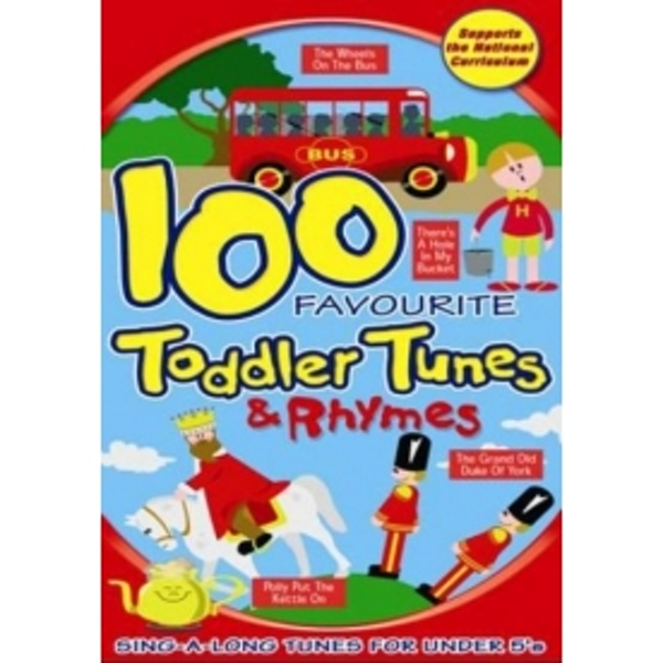 100 Favourite Toddler Tunes and Rhymes DVD