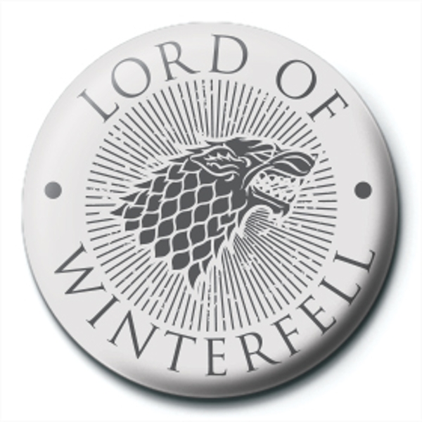 Game of Thrones - Lord of Winterfell Badge