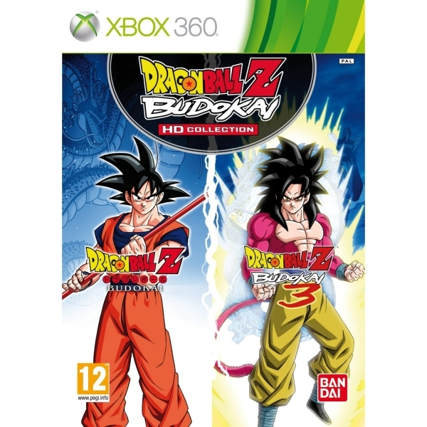 Dragon Ball Z Budokai HD Collection Game Xbox 360