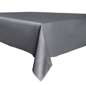 Decorative Home Tablecloth - 137cm x 200cm | Pukkr Dark Grey