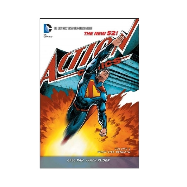Superman Action Comics Volume 5 What Lies Beneath The New 52 Paperback