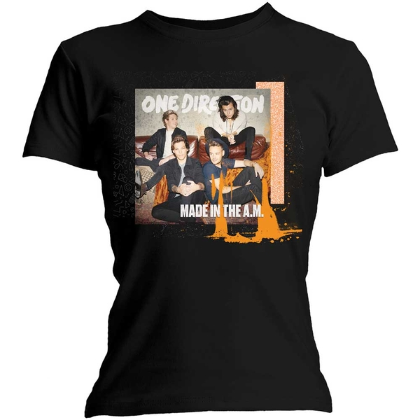 One Direction - Made in the A.M. Women's Small T-Shirt - Black