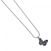 Blue Diadem Butterfly Hypolmnas Salmacis Necklace