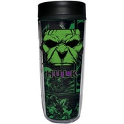 Hulk (Avengers) Insulated Coffee Flask Cup/Travel Mug With Handle (533ml)