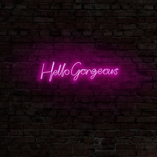 Hello Gorgeous - Pink Pink Wall Lamp