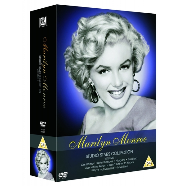 Marilyn Monroe The Collection Vol. 1 Box Set DVD