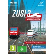 ZuSi 3 Aerosoft Edition Professional Train Simulation PC Game