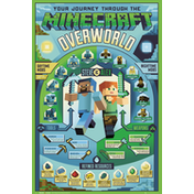 Minecraft Overworld Biome Maxi Poster