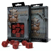 Q-Workshop Dwarven Black & Red Dice Set