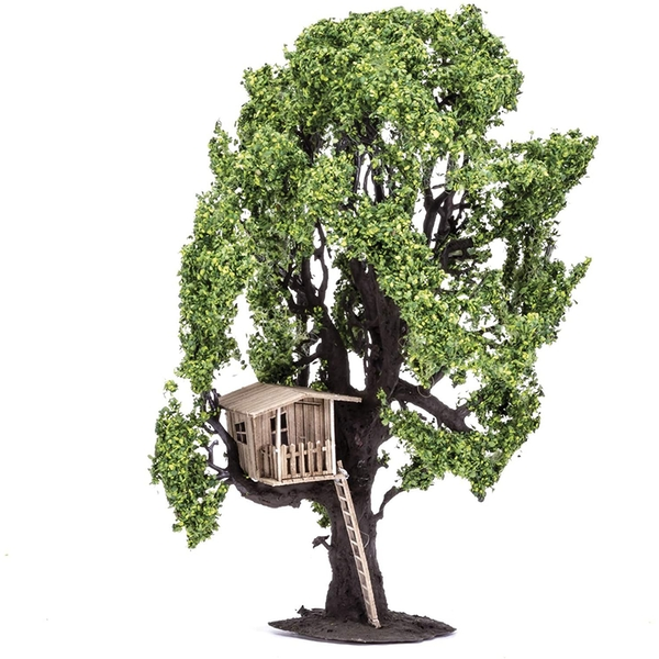 Tree With Tree House Hornby Model Accessory
