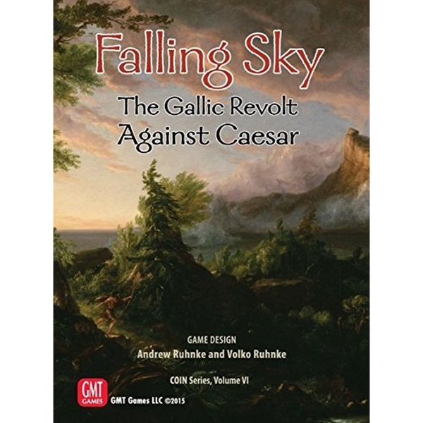 Falling Sky The Gallic Revolt Against Caesar Board Game
