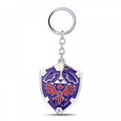 Nintendo Legend of Zelda Hylian Shield 3D Pendant Metal Keychain