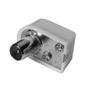 Thomson Antenna Plug, coax angle, screwable, 75 ohms