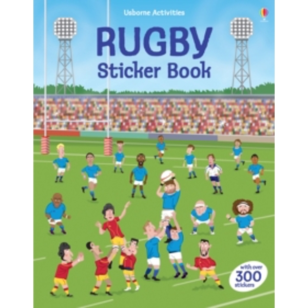 Rugby Sticker Book by Jonathan Melmoth (Paperback, 2015)