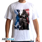 Assassin's Creed - Ac5 - Flag Men's Small T-Shirt - White