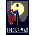 Marvel Deco Spider-Man Hanging 24 x 36 Inches Maxi Poster