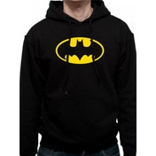 Batman - Logo Men's Medium Hooded Sweatshirt - Black