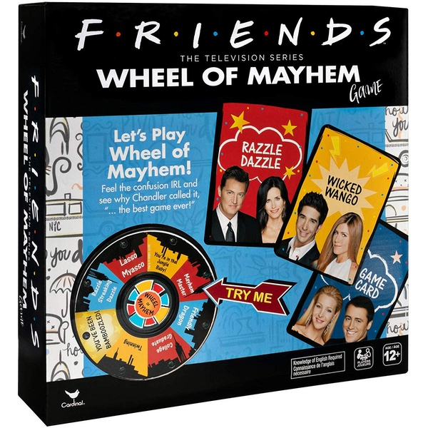 FRIENDS: Wheel of Mayhem Game