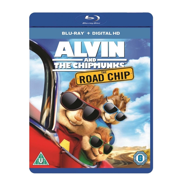 Alvin And The Chipmunks: Road Chip Blu-ray