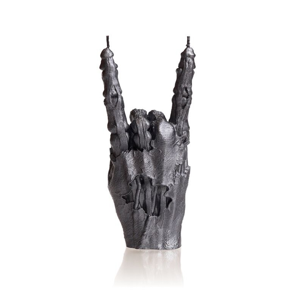 Steel Zombie Hand RCK Candle