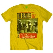 The Beatles Star Club Men's Yellow T Shirt: Small