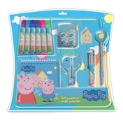 Peppa Pig 20 Piece Multi-Activity Stationary Set