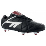 Hi-Tec League Pro SI Junior Black and White Red UK Size 3
