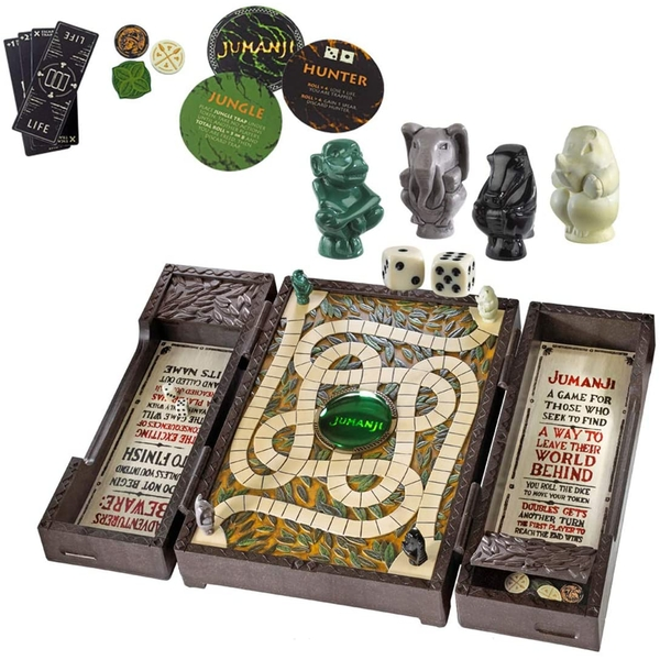 Image of Jumanji Collector Board Game Noble Collection Replica