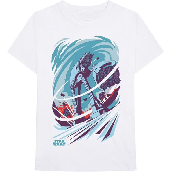 Star Wars - AT-AT Archetype Men's Medium T-Shirt - White