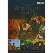 Great Wildlife Moments With David Attenborough DVD
