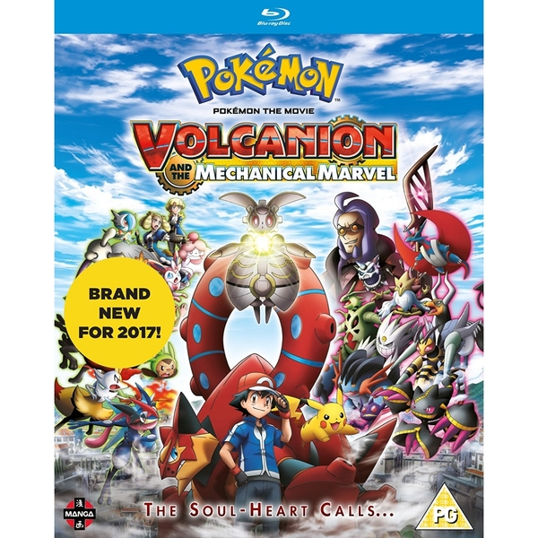 Pokemon The Movie: Volcanion and the Mechanical Marvel Blu-ray
