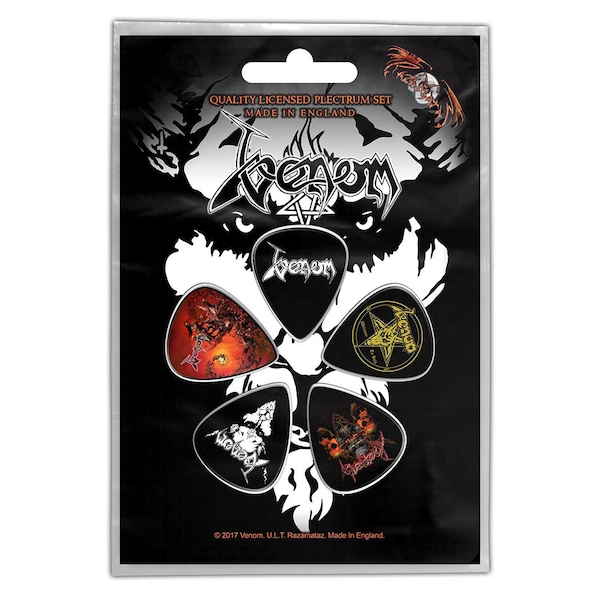 Venom - Black Metal Plectrum Pack