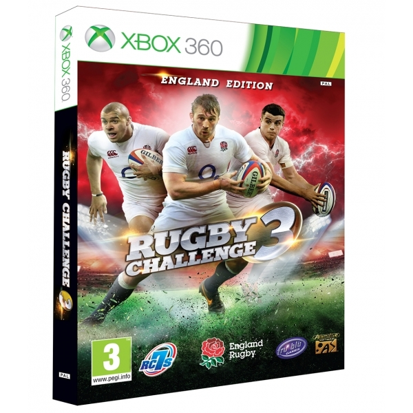 Rugby Challenge 3 Xbox 360 Game