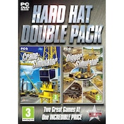 Hard Hat Double Pack (Crane & Digger) Simulator Game PC
