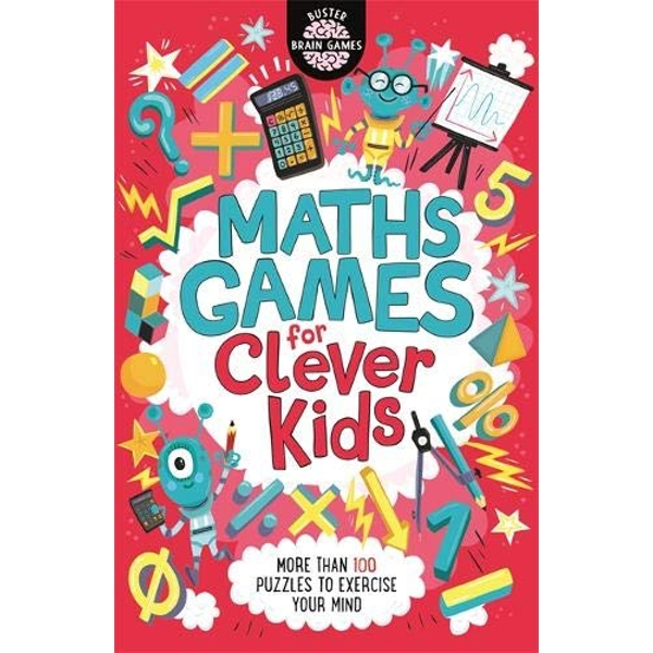 Maths Games for Clever Kids  Paperback / softback 2018